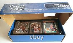 07 Fleer Michael Jordan 200 Cards Box Set Hardwood Floor Relic Memorabilia Card