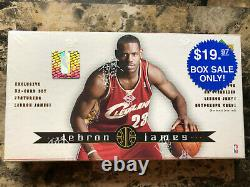 2003-04 Upper Deck LEBRON JAMES 32 Card Box Exclsuive Rookie Set FACTORY SEALED