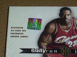 2003 Upper Deck Exclusives LeBron James, Factory Sealed 32-Card Box Set