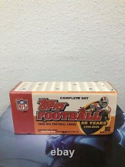 2005 TOPPS NFL Football Cards 50 Years 1956-2005 Complete Set BOX NEWithSEALED