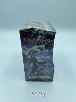 2009 Pokemon Card Platinum Base Set Booster Box Sealed 36 packs Crispy Corners