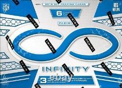 2016 Panini Infinity Football Hobby Box Blowout Cards
