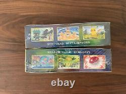 2 box set Eevee Heroes Heros Box S6a Pokemon Card Expansion Pack Booster Box