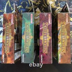 8 Box Set Yugioh Card Structure Deck 1st Yugi Kaiba Joey Japanese Unopened