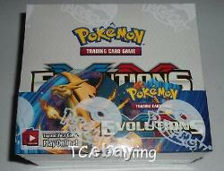 AUTHENTIC XY Evolutions Set SEALED Booster Box (36 Packs OFFICIAL Pokemon Cards)