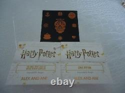 Alex and Ani Harry Potter VDAY SET OF 3 Rose/ Silver Bangles WithTag Card & Box