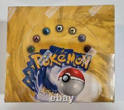 BASE SET Booster Box (36 Packs) FACTORY SEALED English Unlimited Pokemon Cards