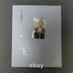 BTS Memories Of 2018 DVD Full Package Opened with RM Namjoon Photo card Kpop
