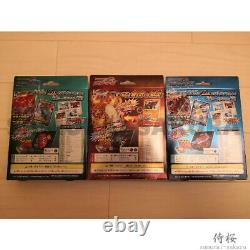Charizard Venusaur Blastoise VMAX & V Deck box Sealed set Pokemon Card