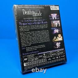 Death Parade Complete Limited Edition Premium Box Set Blu-ray/DVD Anime + Cards