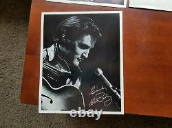 Elvis Presley International Hotel Las Vegas Photo Album, Book, Photo Promo Cards
