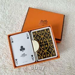 Hermes Playing Card set Novelty for Royal Customers Promo Unused withBox