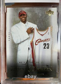 Iconic 2003 Upper Deck LeBron James Rookie Card #9 Box Set BCCG 10 Mint