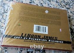 LEBRON JAMES 2003-04 Upper Deck NEW Sealed Box 20 Rookie Card RC Set MVP AUTO