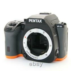 MINT! PENTAX K-S2 Body ORANGE BOXED SD CARD 32GB CLASS 10 SET