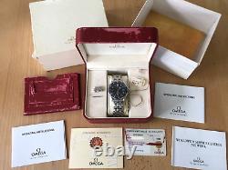 OMEGA SEAMASTER 300m AUTOMATIC BOX CARDS MANUAL RECEIPT RARE FULL SET BOND/007