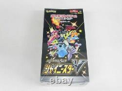 Pokemon Card Booster Box Shiny Star V Eevee Heroes Fusion Arts set s4a s6a s8