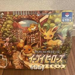 Pokemon Card Eevee Heroes Eevee's Set Limited Box Eeveelutions Japanese Sealed