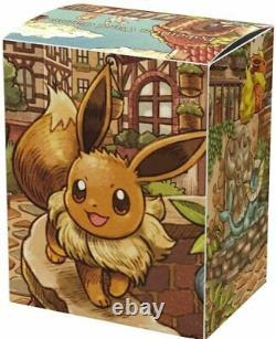 Pokemon Card Game Eevee Heroes Eevee's Set Gym brown Box Japanese Pre-Order