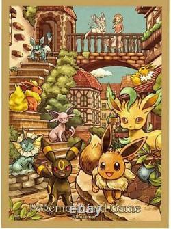 Pokemon Card Game Eevee Heroes Eevee's Set Gym brown Box Japanese from JAPAN