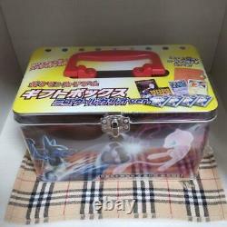 Pokemon Card Game Gift Box Set Pikachu Mewtwo Gold Star Japanese 002