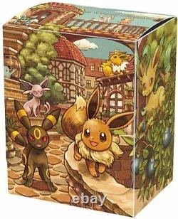 Pokemon Card Game Sword & Shield Eevee Heroes Eevee's Set Gym Box JAPAN