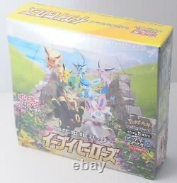 Pokemon Card Game Sword & Shield Eevee Heroes Expansion Set 30 Pack Box Japan