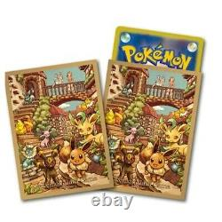 Pokemon Card Game Sword & shield Eevee Heroes Eevee's Set Gym brown Box