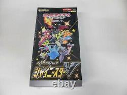 Pokemon Card Sword Shield Booster Box Shiny Star V & Eevee Heroes set s4a s6a