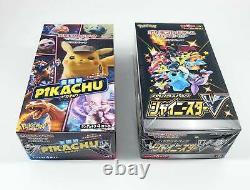 Pokemon Card Sword & Shield Shiny Star V & Detective Pikachu Booster Box Set