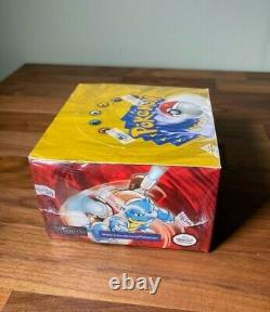 Pokemon Cards 1999 Base Set Unlimited Blue Wing Booster Box Factory Sealed