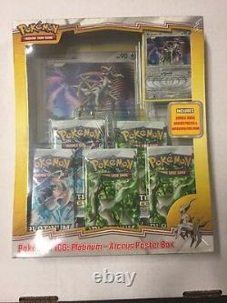 Pokemon Platinum Arceus Poster Box Gift Set For Card Game CCG TCG