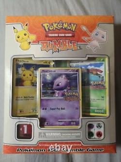 Pokemon Rumble Game TCG Boxed Set with 16 Exclusive Cards Opened