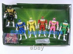 Power Rangers Zeo Auto Morphin Action Figure Collection Box Set withExclusive Card