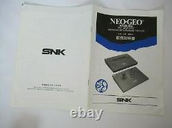 SNK Neo Geo AES Console set boxed Japanese Memory Card neogeo