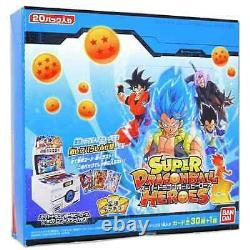 Set! Super Dragon Ball Heroes Card Big Bang Booster Pack vol. 1 BOX NEW