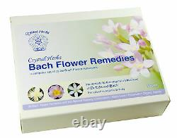 Set of 10ml Bach Flower Remedies in Card Box non-alcoholic preservative