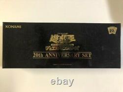 Yu-Gi-Oh OCG 20th ANNIVERSARY SET Duel Monsters Box Card Game TCG
