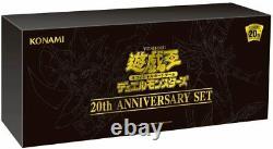 Yu-Gi-Oh OCG ANNIVERSARY SET Duel Monsters 20th Box Card Game KONAMI Japan